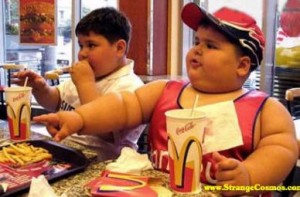 fat kids at mcdonalds